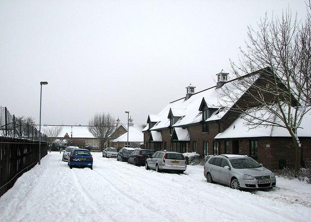 Baldock Way: Morley Court and Morley Memorial School
