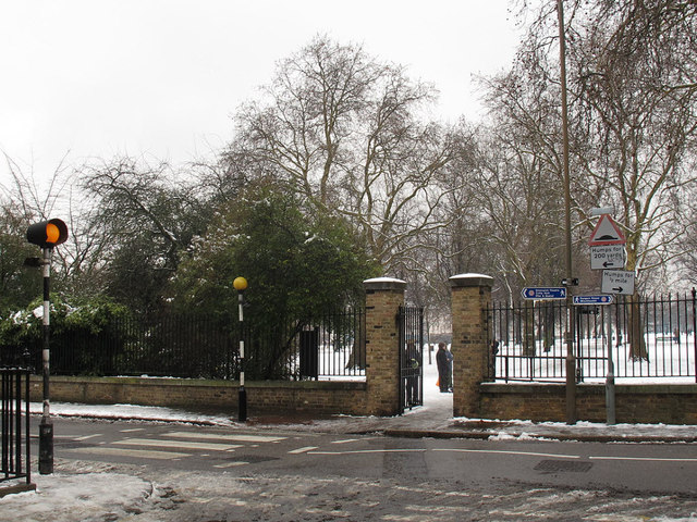Circus Gate to Greenwich Park