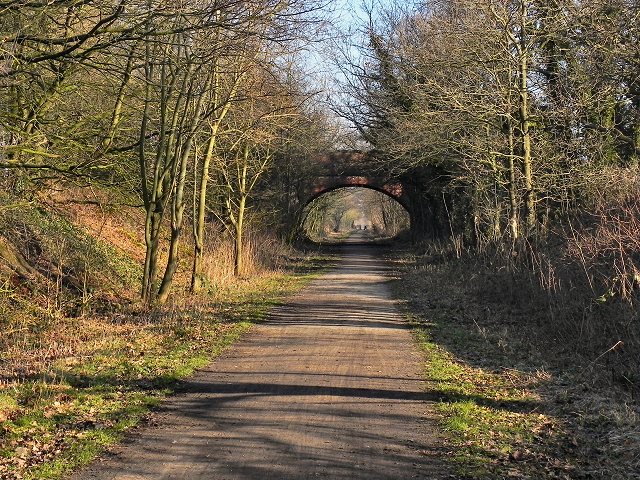 Trans Pennine Trail, Warburton Bridge