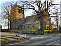 SJ7089 : Warburton, St Werburgh's Church by David Dixon