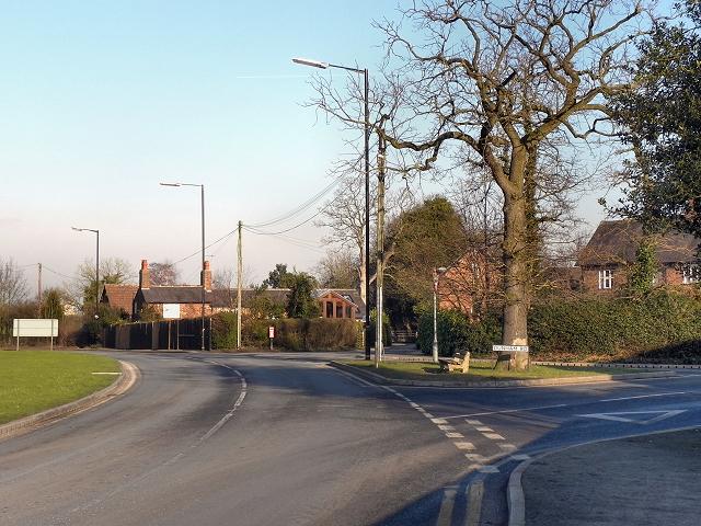Warburton Lane - Dunham Road Junction