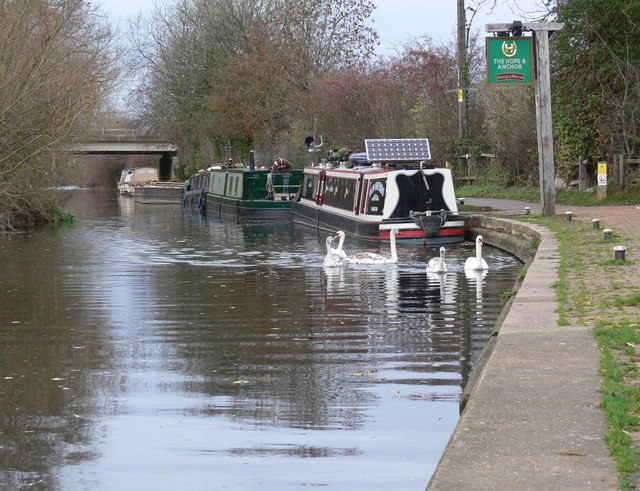 Grand Union Canal near Syston