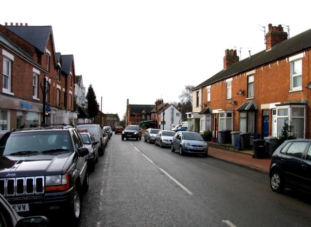 Station Road westwards