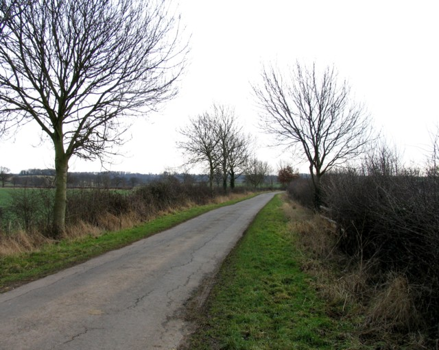Wire Lane towards East Carlton