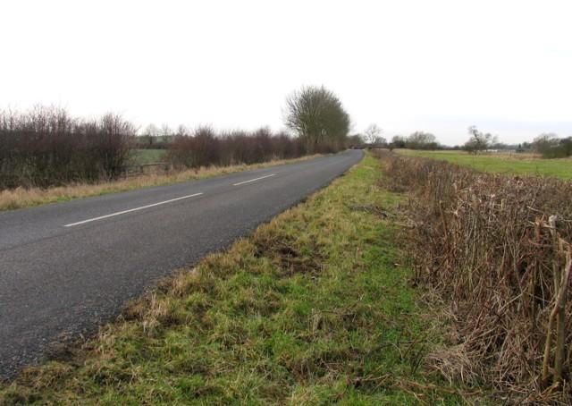 Ashley Road towards Ashley