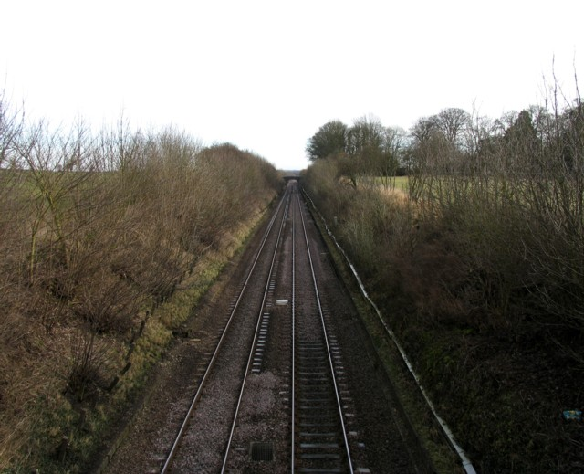 Midland Main Line towards Kettering