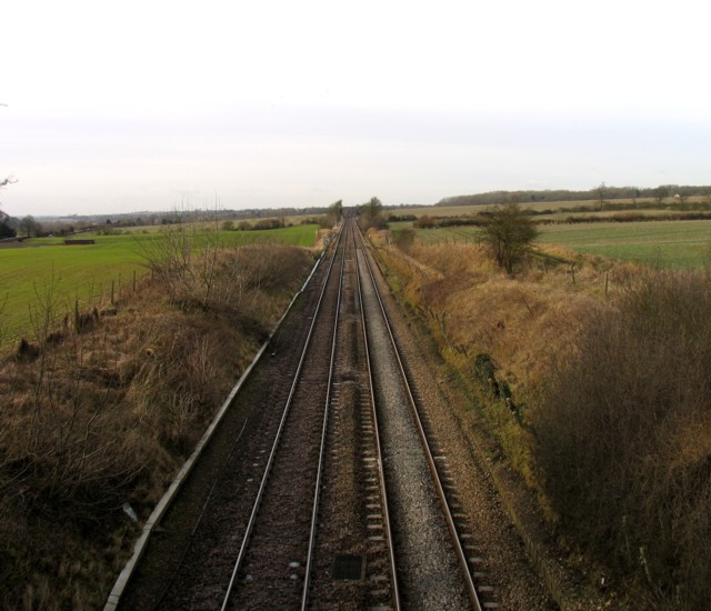 Midland Main Line towards Leicester