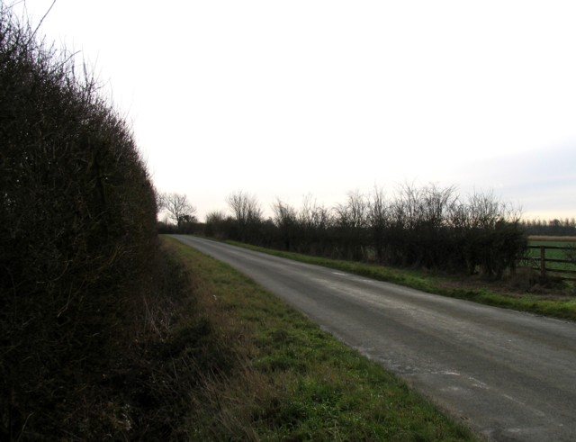 Pipewell Road towards Pipewell