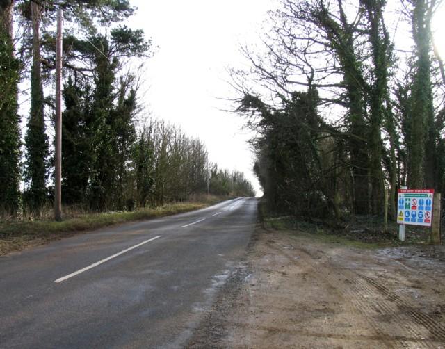 Desborough Road southwards