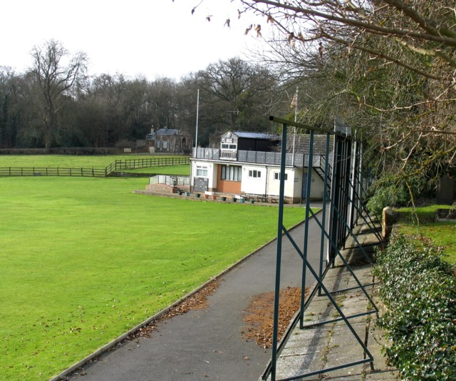 Rushton Cricket Club pavilion