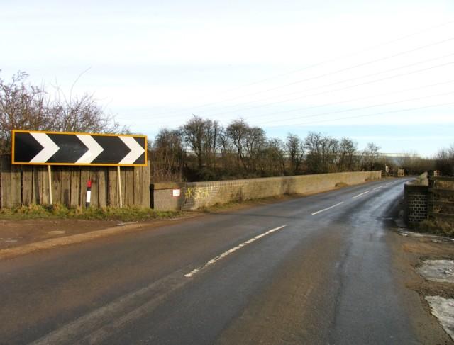 Hipswell Road railway bridge