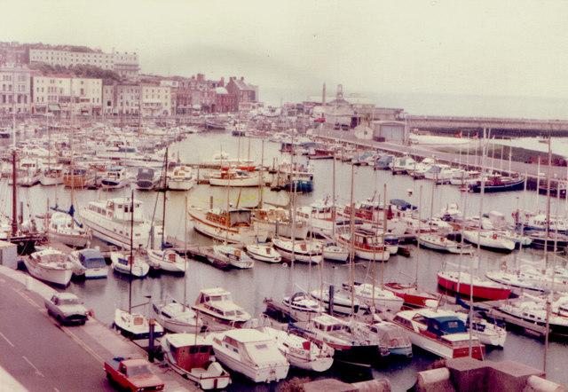 Ramsgate Harbour 1982