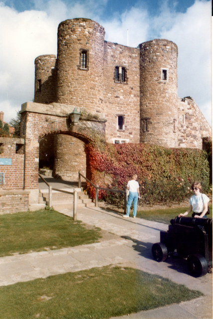 Ypres Tower Rye 1985