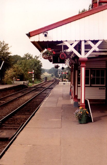 Sheffield Park Railway Station 1985