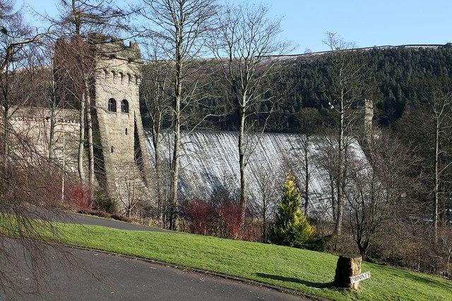 Howden Reservoir Dam