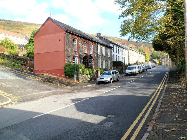 Ystrad : Penrhys Road houses east of Danygraig and Danycoed