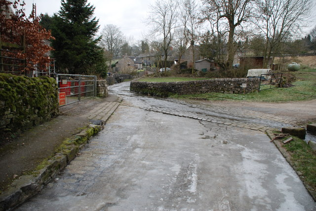 Icy Ford at Butterton