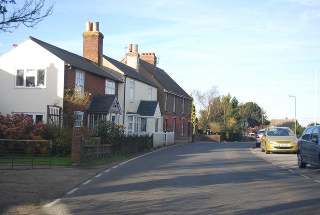A row of houses, Shalloak Rd
