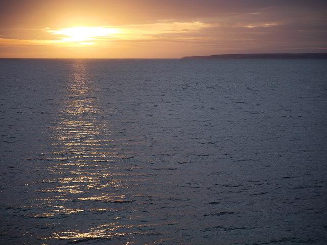 Sunset at Porthleven