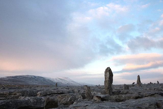 Standing stones, Scales Moor