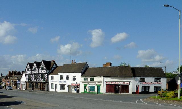 Shops in Penkridge, Staffordshire