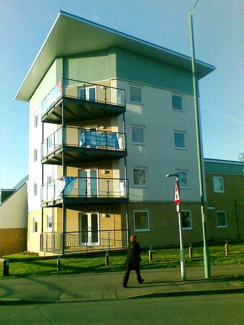 New flats, Hammarskjold Road, Harlow