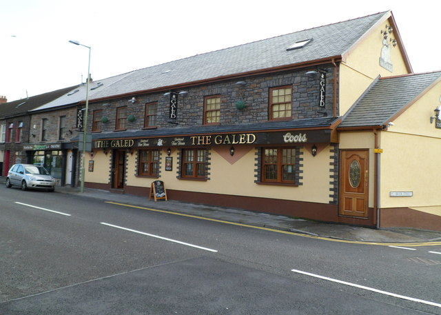 The Galed, Ystrad