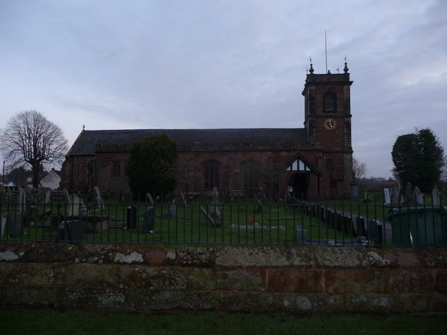 St. Dunawd's church, Bangor-on-Dee