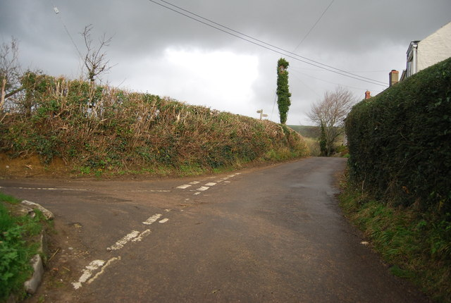 Cow Lane, School House Lane junction