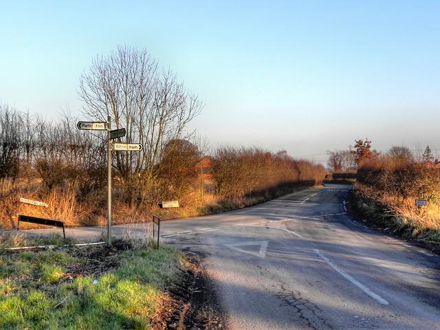 A Rural Road Junction