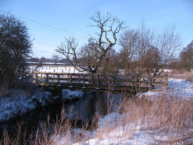 Footbridge over Cod Beck