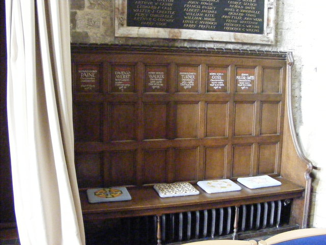 Church Wardens Bench