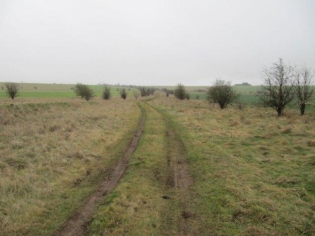 Along to the ridgeway