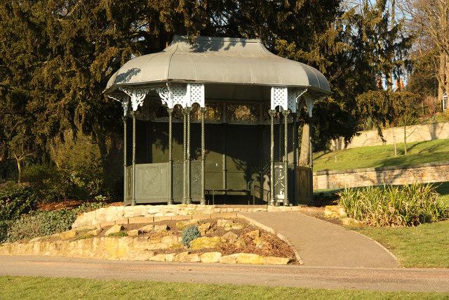 Arboretum shelter