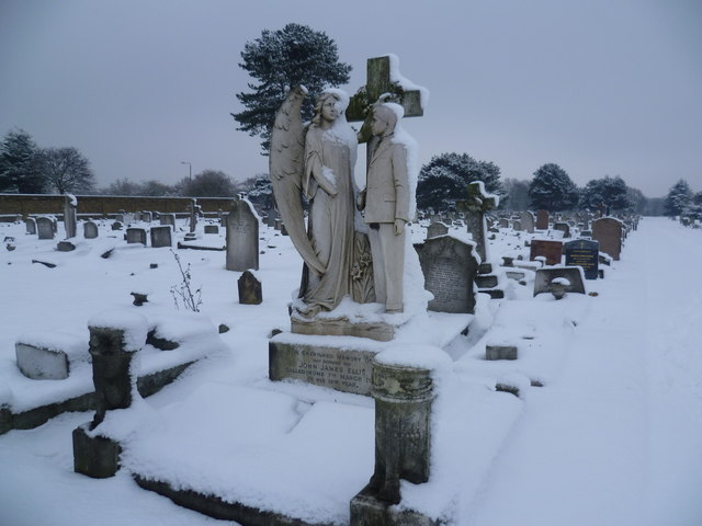 Memorial to John James Ellis in Woolwich New Cemetery
