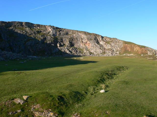 Former Quarry on Little Orme's Head