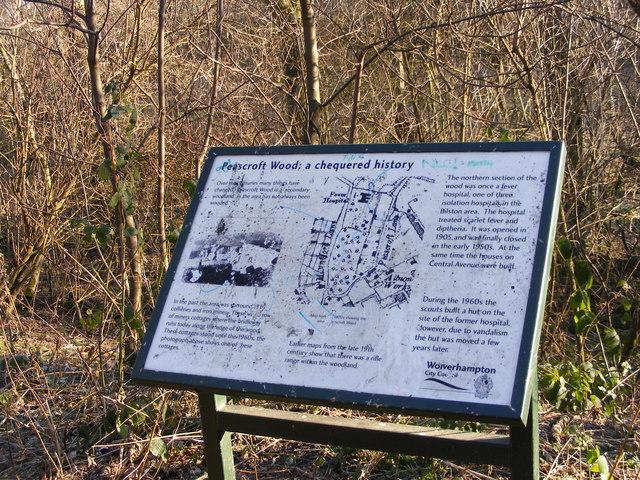 Peascroft Wood History