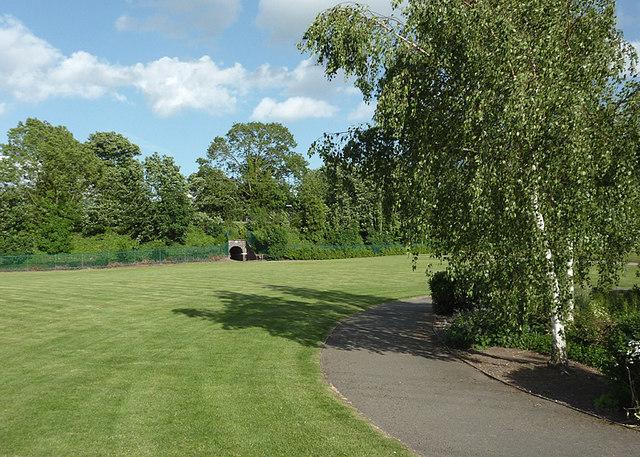 Park in Penkridge, Staffordshire