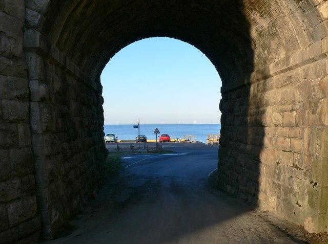 Approaching the beach at Llanddulas
