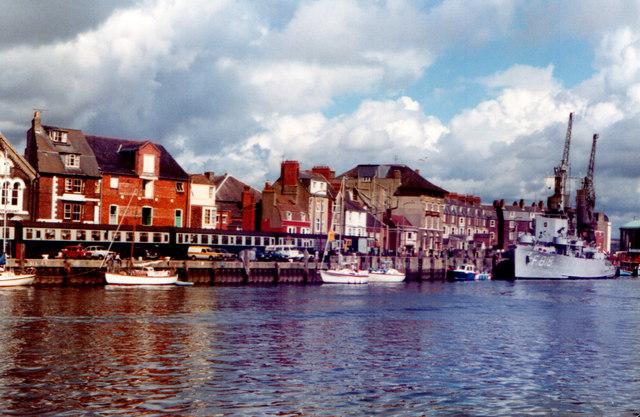 Weymouth Custom House Quay 1981