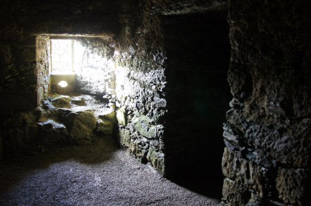 Inside Muness Castle
