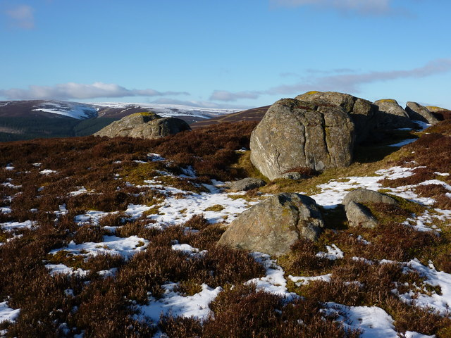 Rocks on Mid Hill