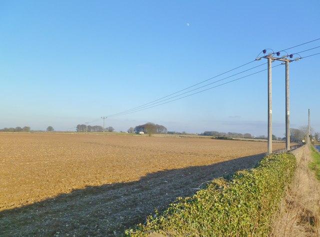 Bisley, arable land