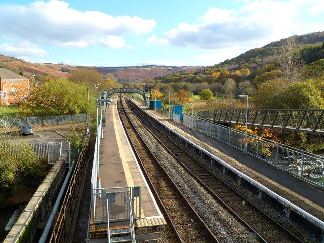 Ystrad Rhondda railway station