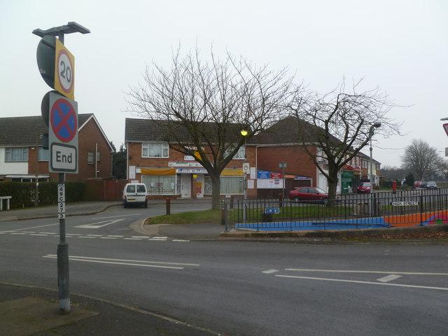 Ryton-on-Dunsmore, shops