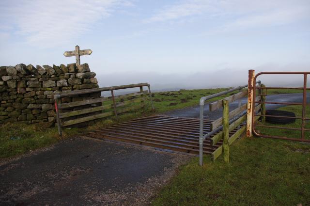 Cattle grid, Littledale Road
