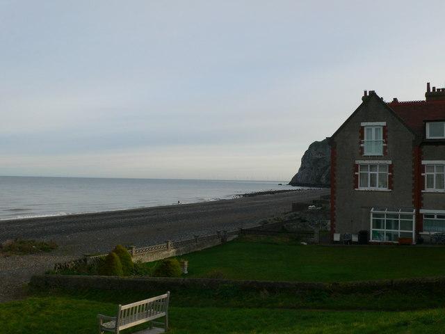 The beach at Penrhyn