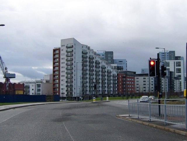 Glasgow Harbour Housing Development