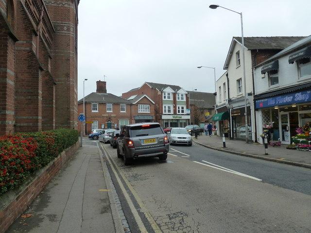 Looking along Prospect Street towards Church House
