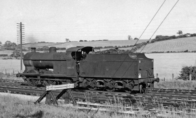LMS Fowler 4F 0-6-0 near Mangotsfield North Junction
